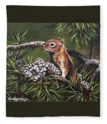 Forest Friend Fleece Blanket