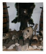 Forest Friendship Fleece Blanket
