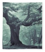 Forest Harmony Fleece Blanket