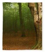 Forest Light 1 Fleece Blanket