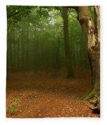 Forest Light 2 Fleece Blanket