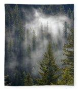 Forest Mystery Fleece Blanket