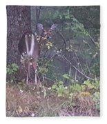 Forest Peek A Boo Fleece Blanket