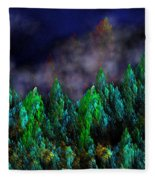 Forest Primeval Fleece Blanket