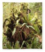 Forest Revival Fleece Blanket