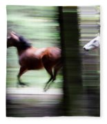 Forest Run Fleece Blanket