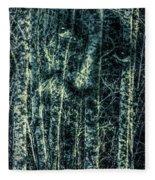 Forest Spirit Fleece Blanket