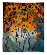Forest Spirits Fleece Blanket