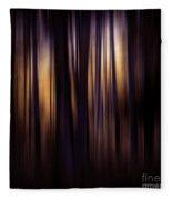 Forest Surround Fleece Blanket