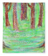 Forest View Fleece Blanket