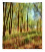 Forest Vision Fleece Blanket