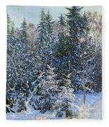 Forest's Fairy-tale. Fleece Blanket