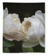 Forever And Always - Desdemona Roses Fleece Blanket