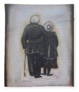 Forever In Love Fleece Blanket