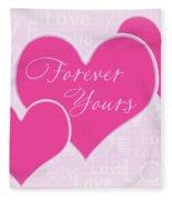 Forever Yours Fleece Blanket