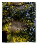 Forget-me-nots 1 Fleece Blanket