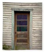 Forgotten Door Fleece Blanket