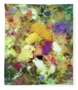 Forgotten Petals Fleece Blanket