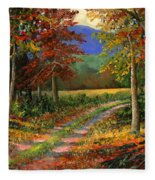 Forgotten Road Fleece Blanket
