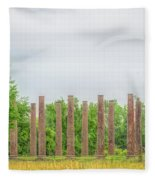 Forks Of Cypress Fleece Blanket