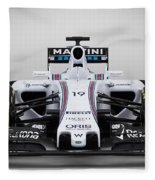 Formula 1 Williams Fw37 Fleece Blanket