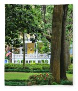 Forsyth Park Inn In Savannah  3205 Fleece Blanket