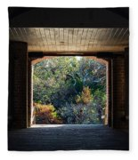 Fort Clinch Portal Fleece Blanket