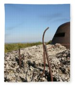 Fort De Douaumont - Verdun Fleece Blanket