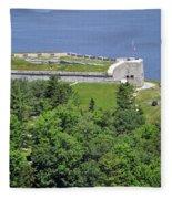 Fort Knox Maine Fleece Blanket