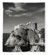Fort Lavrijenac Fleece Blanket