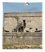 Fort Matanzas Fleece Blanket