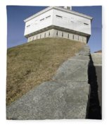 Fort Mcclary - Kittery Maine Usa Fleece Blanket