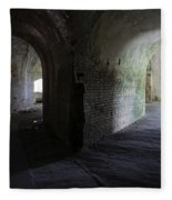 Fort Pickens Corridor 2 Fleece Blanket