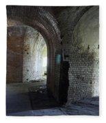Fort Pickens Corridors Fleece Blanket