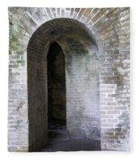 Fort Pickens Entrance Fleece Blanket