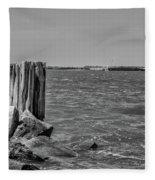 Fort Sumter Civil War Battles Fleece Blanket
