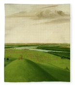 Fort Union, Mouth Of The Yellowstone River, 2000 Miles Above St. Fleece Blanket