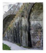 Fort Walls Fleece Blanket