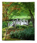 Fort Worth Botanic Garden Fleece Blanket