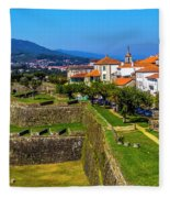 Fortress Walls Fleece Blanket