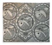 Fortune Fish Fleece Blanket
