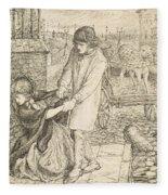 Found - Compositional Study Fleece Blanket