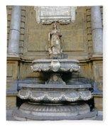 Fountain At Quattro Canti In Palermo Sicily Fleece Blanket