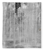 Fountain Play One Fleece Blanket