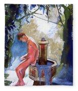 Fountain Fleece Blanket