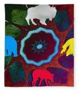 Four Directions   -009 Fleece Blanket