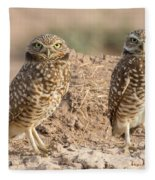 Four Eyes Fleece Blanket