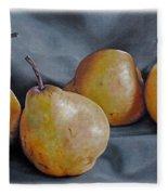 Four Pears Fleece Blanket