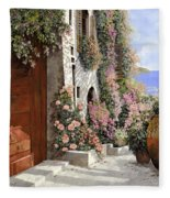 four seasons- spring in Tuscany Fleece Blanket