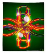 Fourth Dimension Fleece Blanket